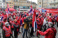 OGBL 1er Mai 2021 manifestation Esch