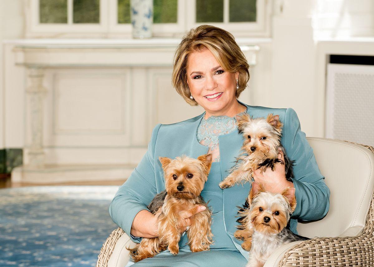 Die Großherzogin engagiert sich im sozialen Bereich.