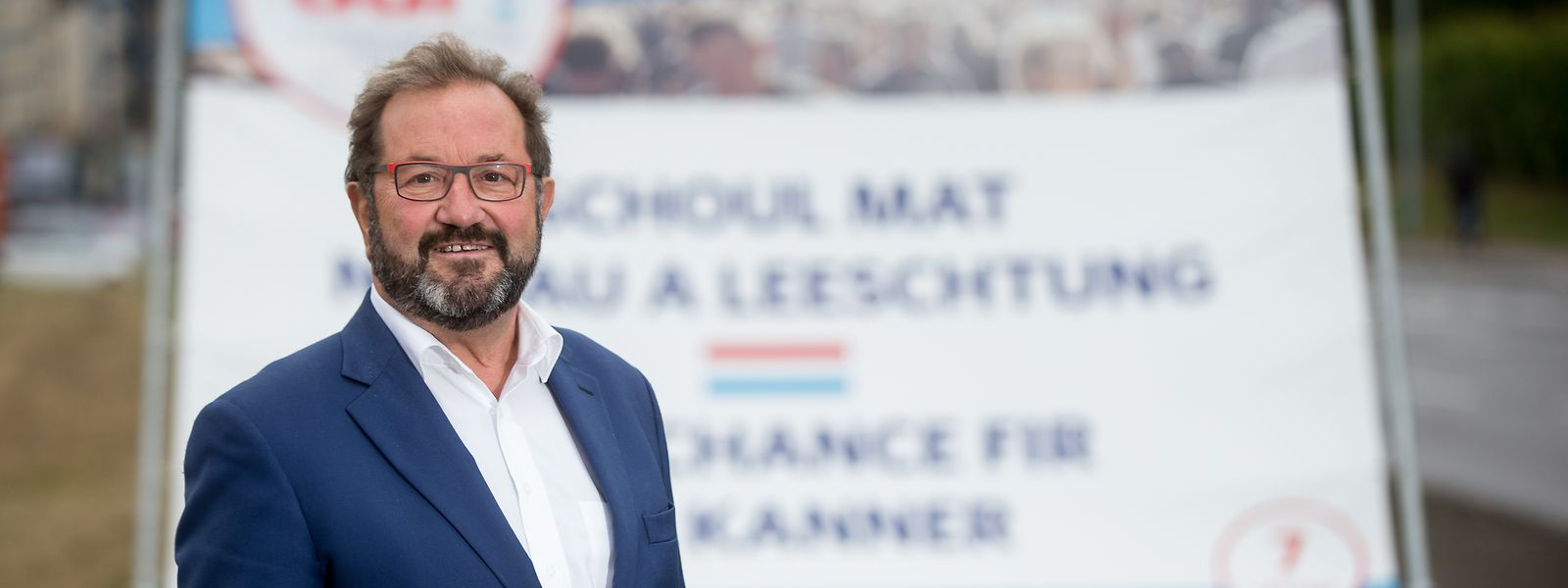 Gast Gibéryen est la tête de liste de l'ADR pour les élections européennes qui auront lieu le 26 mai.