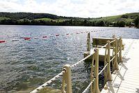 Luxemburgs Badeseen – hier der Baggerweiher in Remerschen – laden zur Abkühlung ein. Wer allerdings im offenen Gewässer schwimmt, tut dies auf eigene Gefahr.