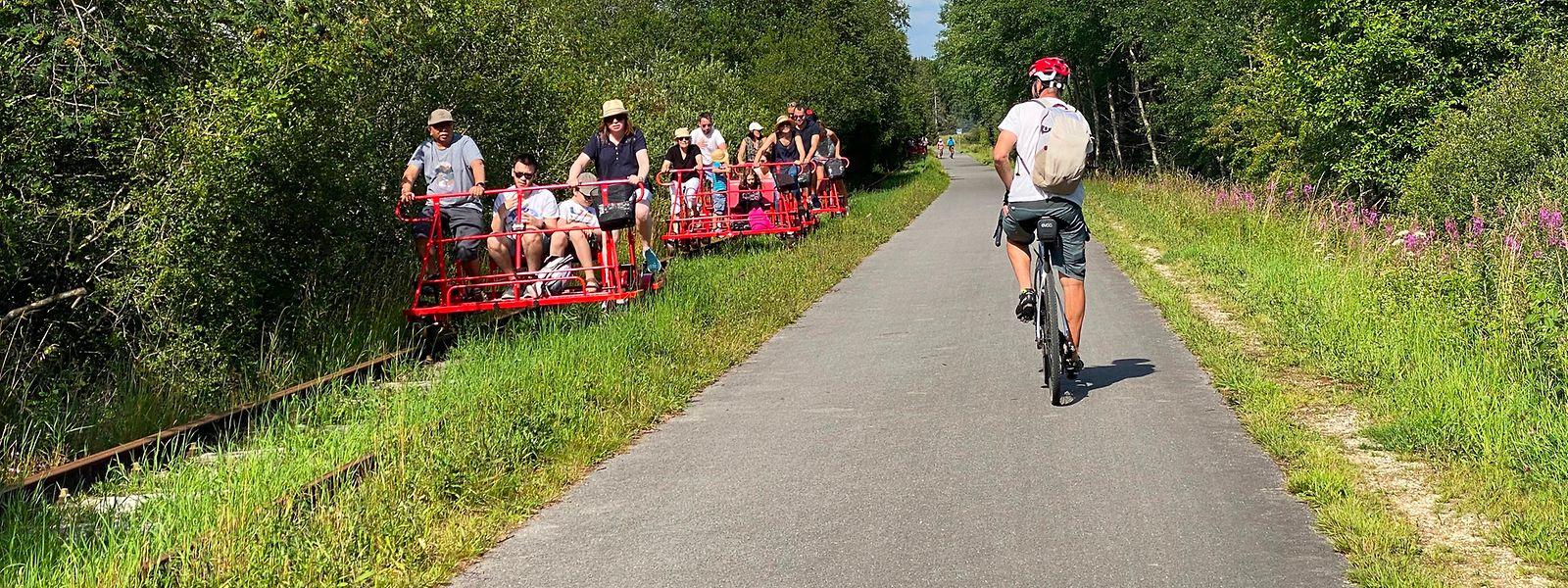Eine Hauptforderung der Lëtzebuerger Vëlos-Initiativ ist es, den Radweg der Vennbahn, der Aachen (D) und Ulflingen verbindet, bis nach Clerf zu erweitern.