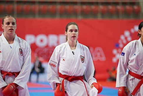 Warling fehlt bei der Karate-EM nur ein Treffer