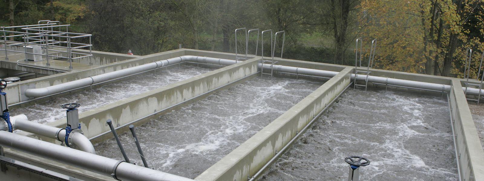Les eaux usées de la station de Hesperange ont été analysées par les chercheurs du List.