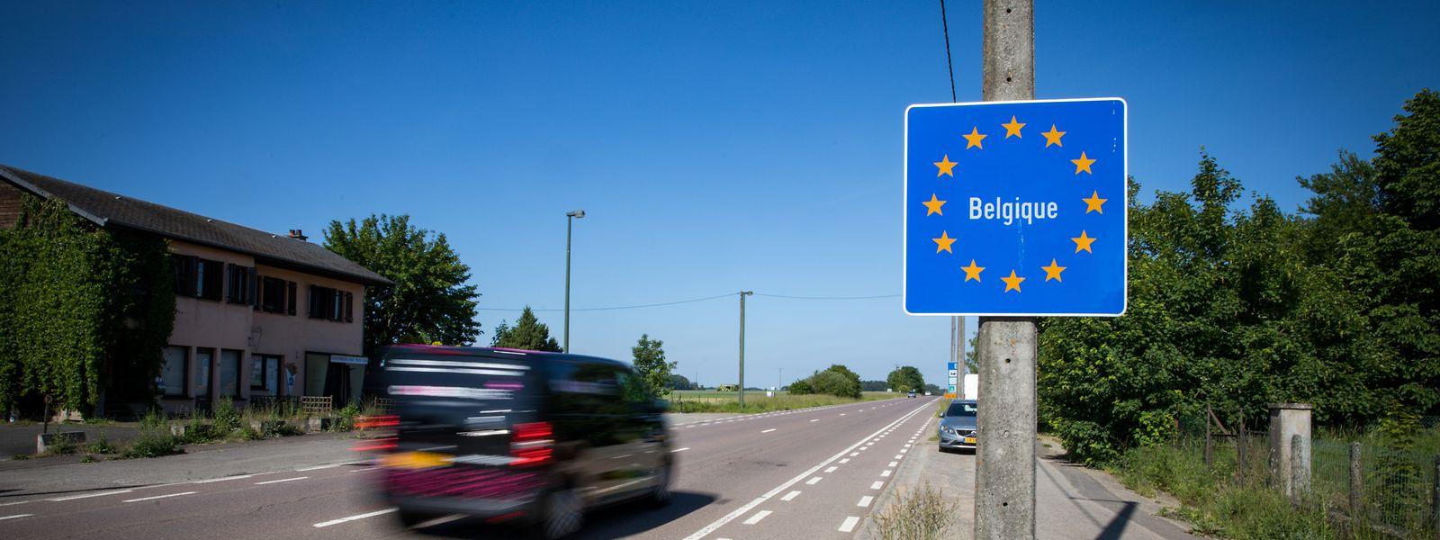 Belgische Grenze Offen