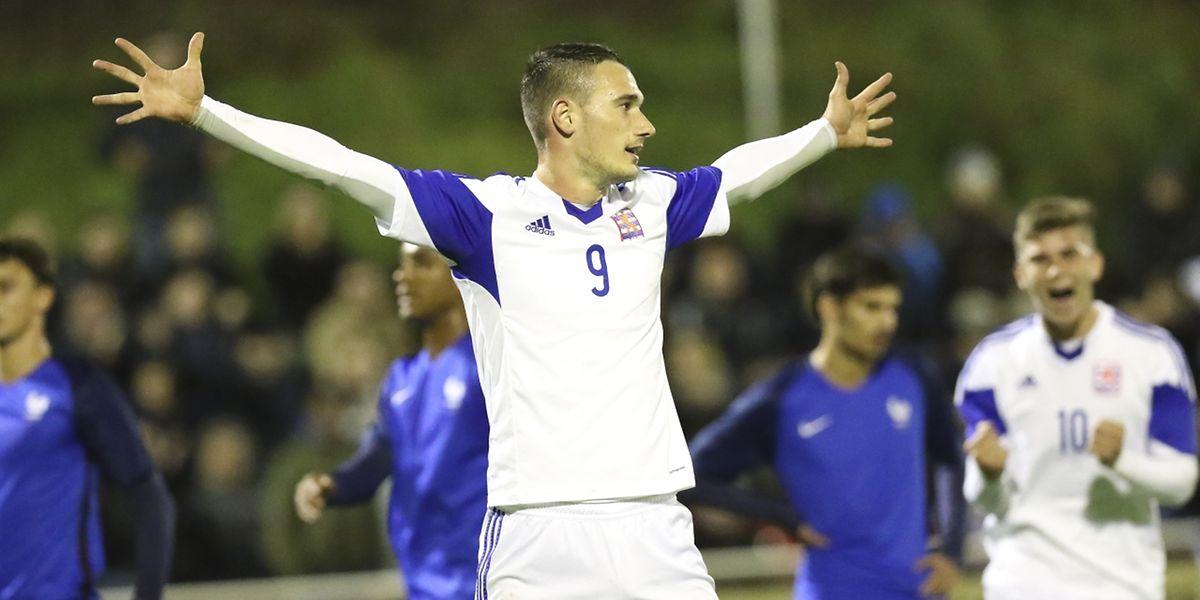 Edvin Muratovic avait donné deux buts d'avance aux Espoirs luxembourgeois face à la France.