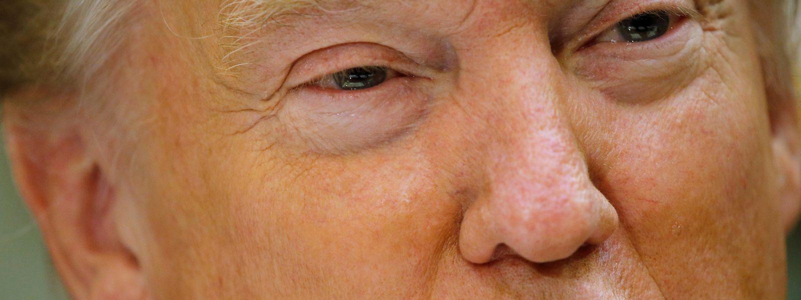 US-Präsident Donald Trump steht nach dem Stopp des US-Einreiseverbots unter Druck.
