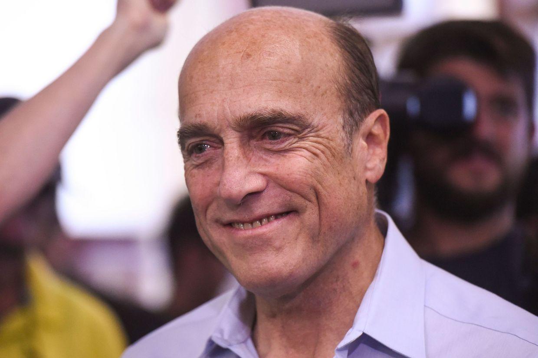 Der Präsident des linken Regierungsbündnisses Frente Amplio, Daniel Martinez.