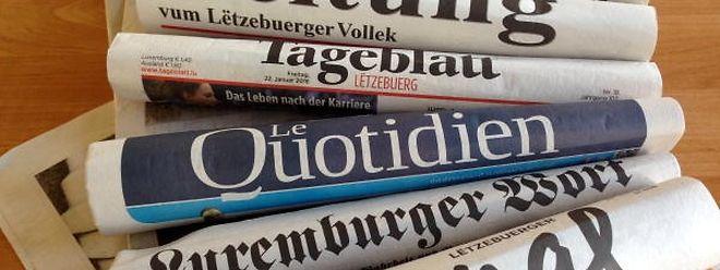 Zeitungen und Radio stehen bei der Vertrauensfrage weiterhin hoch im Kurs.