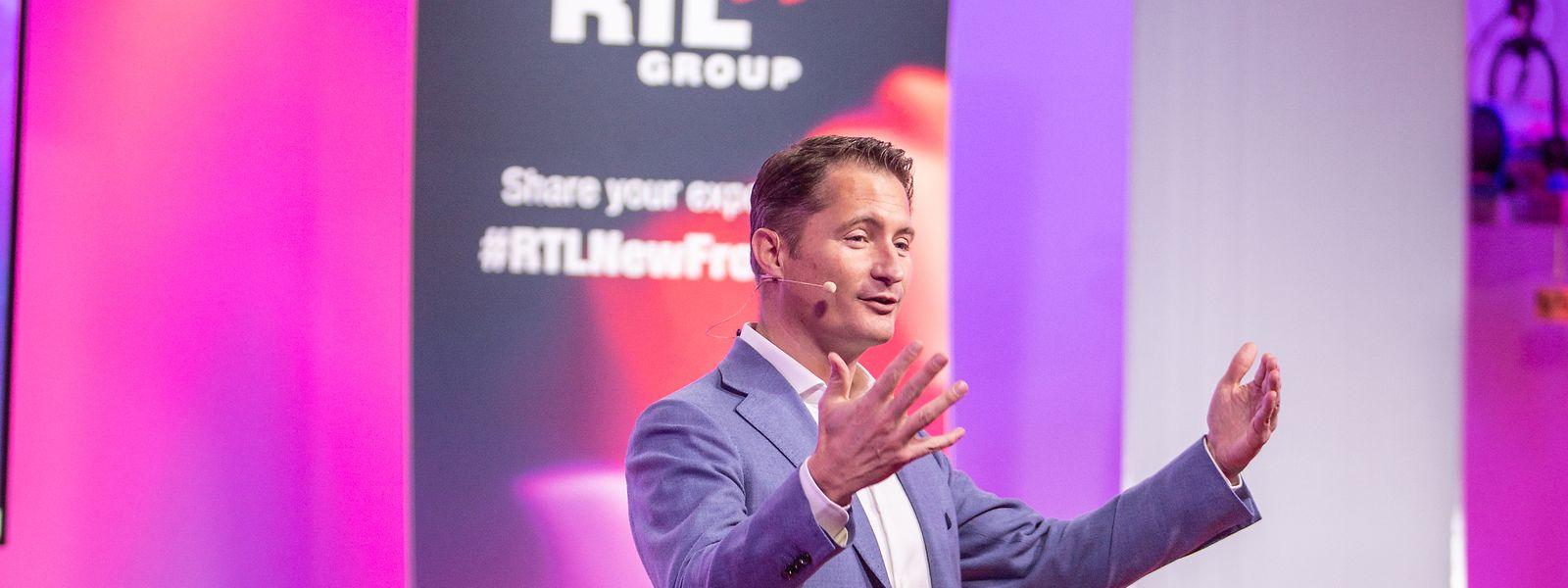 Erst Chef von RTL Nederland ist Bert Habets heute alleiniger Geschäftsführer der gesamten RTL Group.