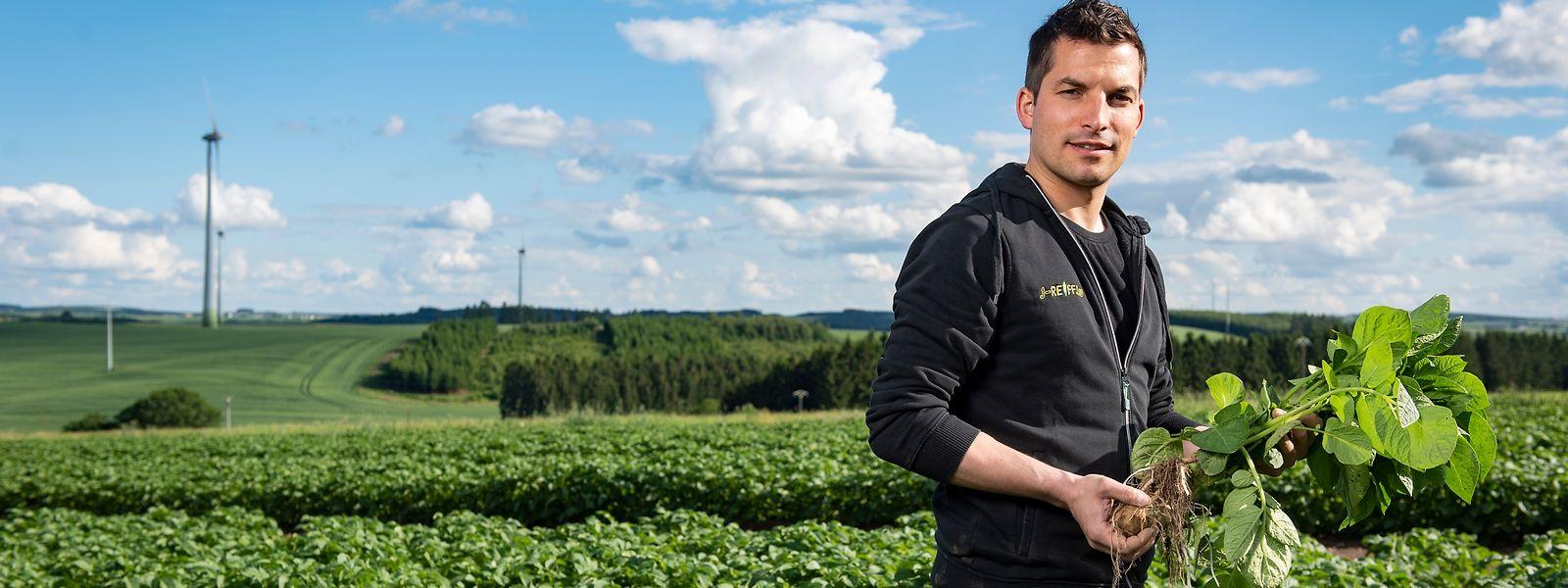 """Jeff Reiff könnte zum nächsten """"Landwirt des Jahres"""" gekürt werden."""