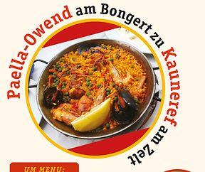 Paella-Owend am Bongert zu Kauneref
