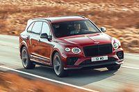 Selbst in anspruchsvollem Terrain verspricht das Luxus-SUV Bentley Bentayga ein Grand-Touring-Erlebnis.