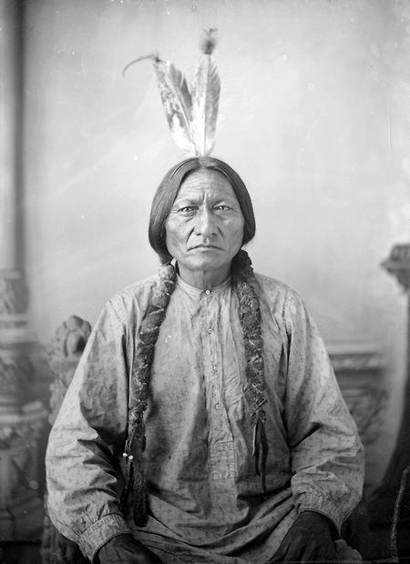Sitting Bull, 1883.