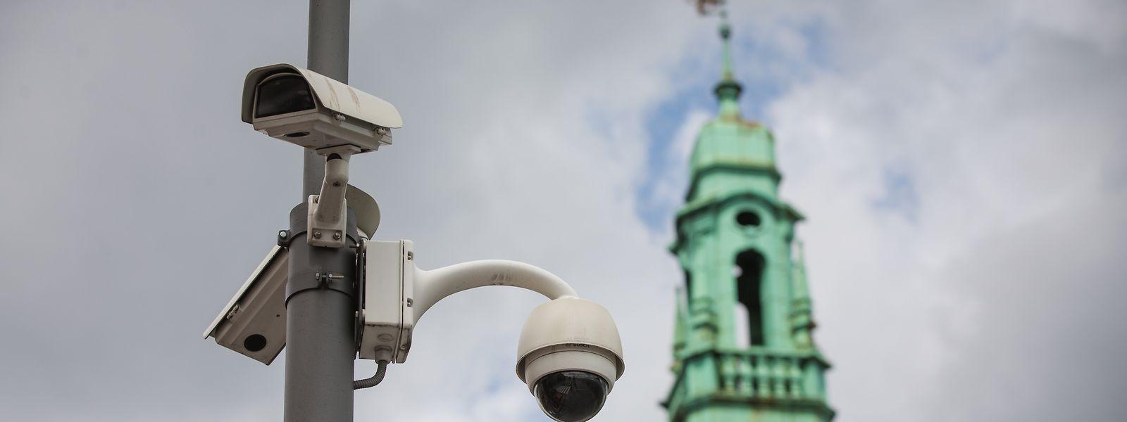 Derzeit gibt es 125 öffentliche Überwachungskameras in der Hauptstadt.