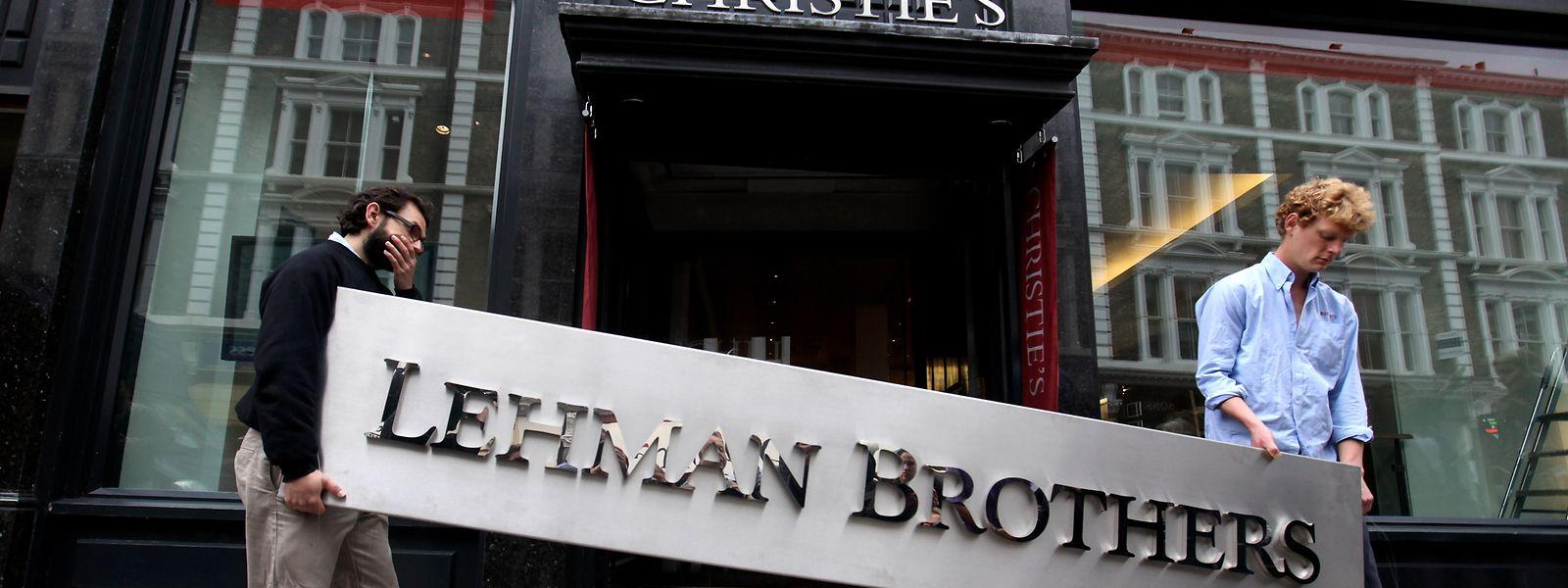 Die Pleite der Bank Lehman Brothers war einer der entscheidenden Momente der Finanzkrise 2008.