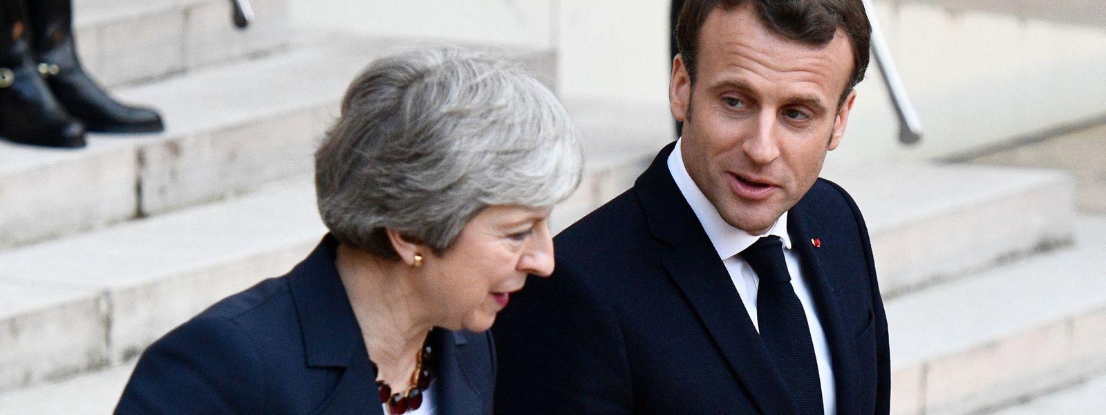 La Première ministre britannique a joué son va-tout mardi auprès de la France et de Berlin.