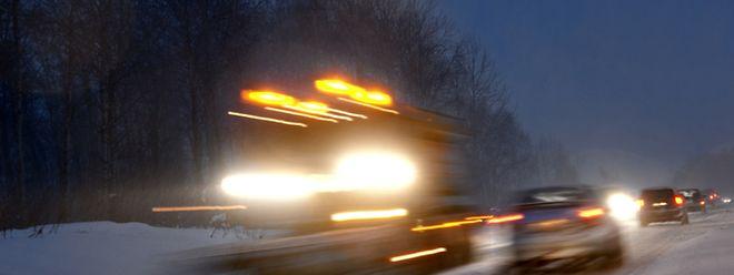 Le verglas a frappé sur les routes de l'est et du sud du pays plus particulièrement