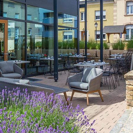 Grab a charcuterie board for two or a three-course meal at this Hobscheid terrace