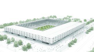 Ab Oktober 2019 sollen die Bälle in der neuen Arena rollen.