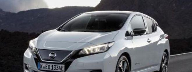 Der neue Nissan Leaf macht nicht nur optisch eine gute Figur.