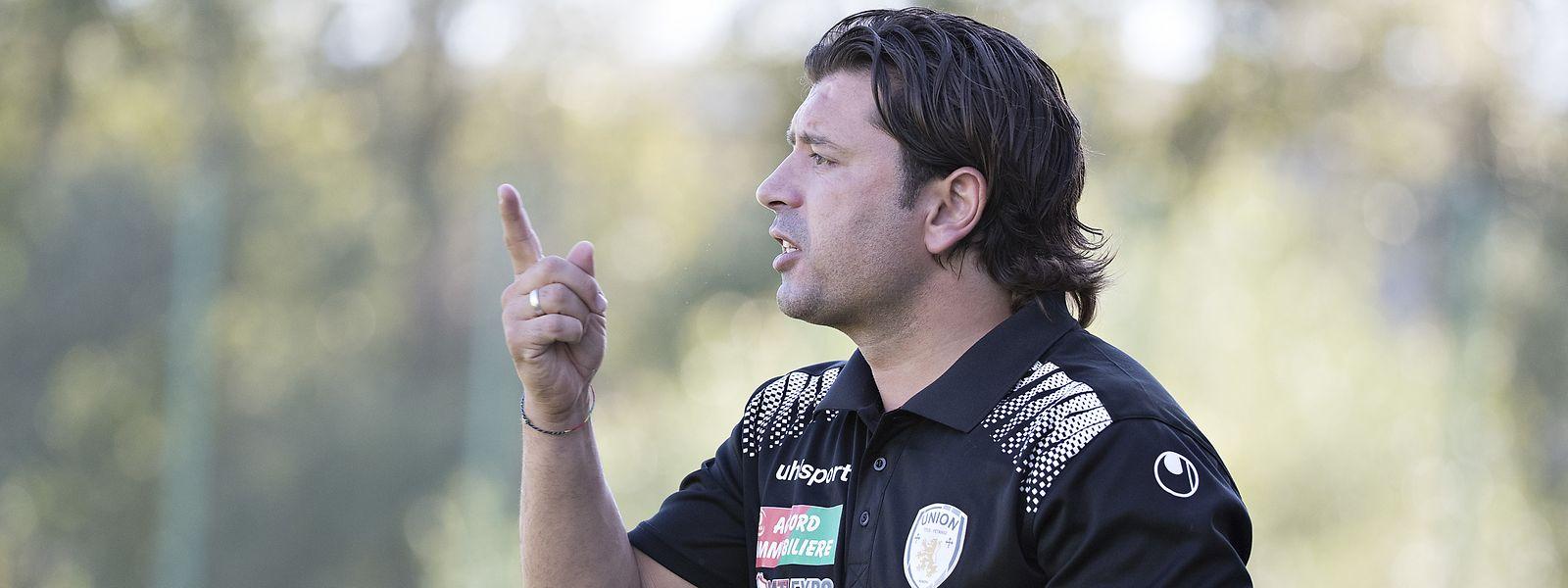 Titus-Trainer Carlos Fangueiro braucht gegen Fola einen guten Plan.