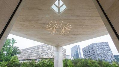 Musee d'Art Moderne, MUDAM, Musee Trois Glands, Musee Drai Eechelen, Foto Lex Kleren
