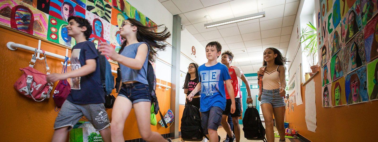 Le 15 septembre, tous les élèves du Luxembourg feront leur rentrée