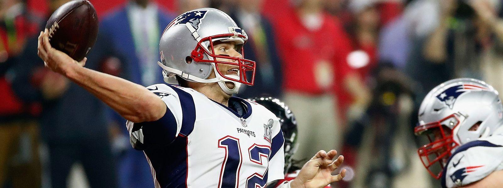 Überragend: Patriots-Quarterback Tom Brady.