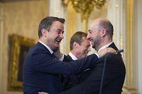 Nicht nur ein politischer Aufstieg: Premier Xavier Bettel und Vize-Premier Etienne Schneider sind die Top-Verdiener unter Luxemburgs Politikern.