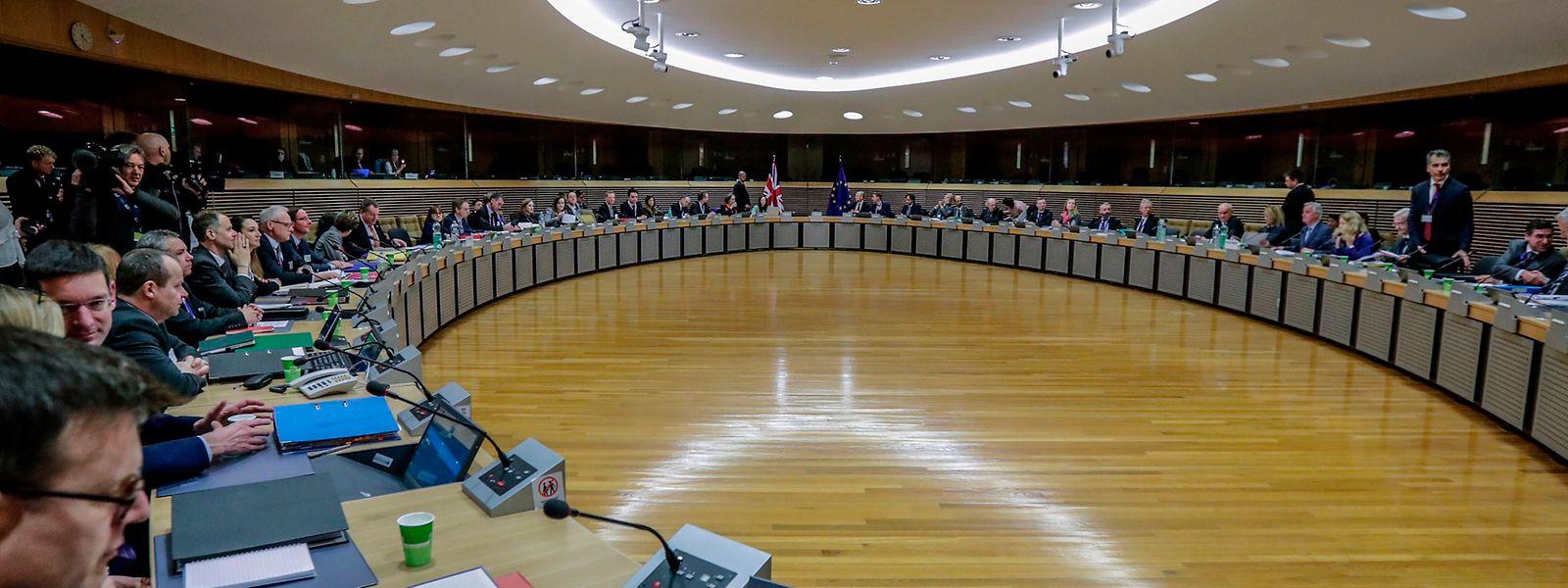 Le premier cycle des négociations post-Brexit a débuté à Bruxelles