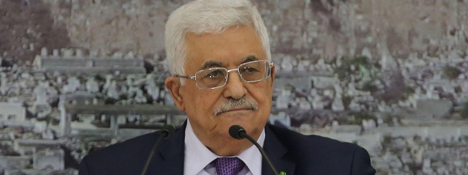 Palästinenserpräsident Mahmud Abbas wird bei seiner Arbeitsvisite in Luxemburg die Lage im Nahen Osten erörtern.