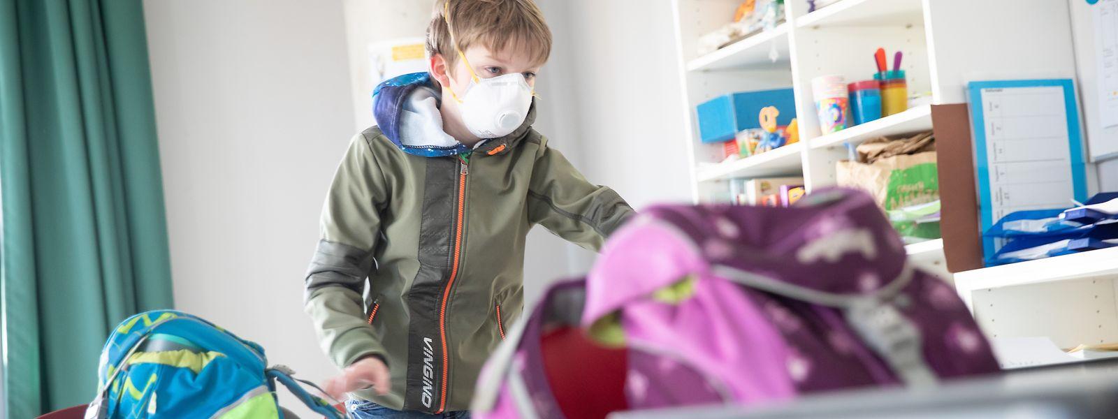 Der Infektionsverlauf bei Kindern ist eher milde.
