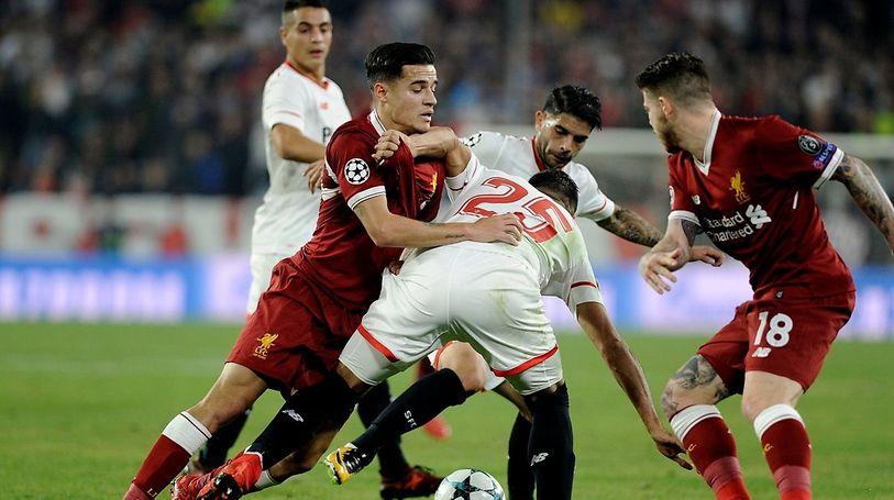 Seville s'est cramponné et a bien faire d'y croire. Le Liverpool de Coutinho s'est fait remonter trois buts.