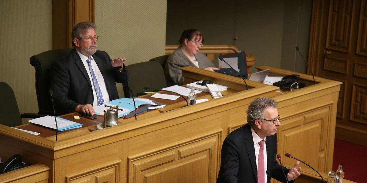 Finanzminister Pierre Gramegna sieht einen finanziellen Spielraum, um die Steuern für Unternehmen zu senken. Nicht alle teilen seinen Optimismus.
