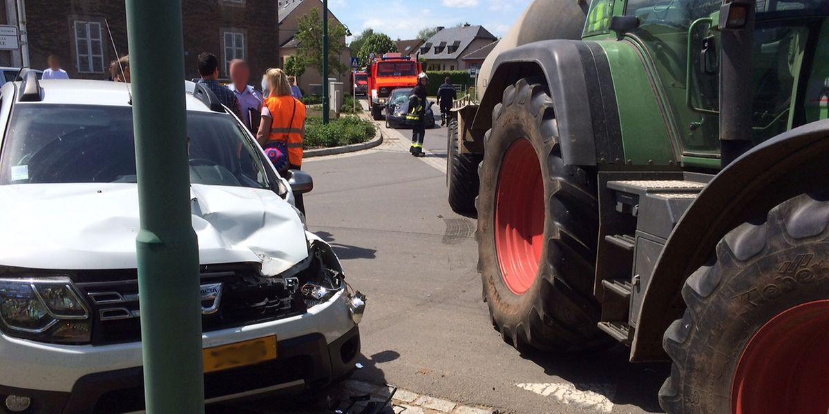 Der Unfall ereignete sich am Montag um 13.30 Uhr.