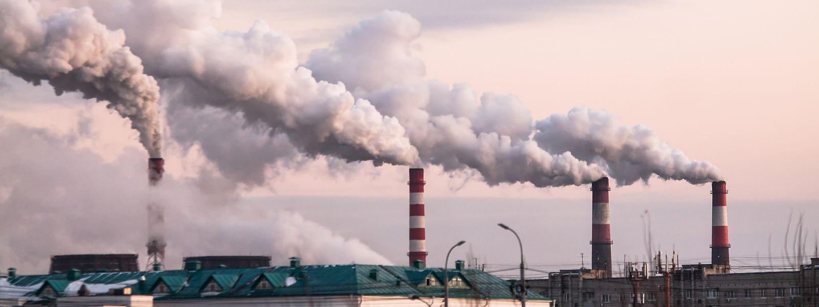 En l'espace de 25 ans, de 1990 à 2015, les émissions mondiales de CO2 ont augmenté de près de 60%.