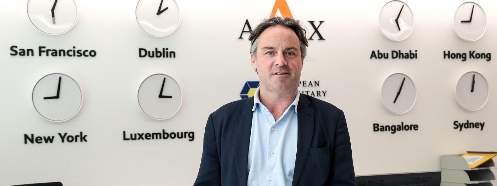 Apex-Gründer Peter Hughes in Munsbach: Der Markt der Fonds-Management-Firmen ist stark zersplittert.