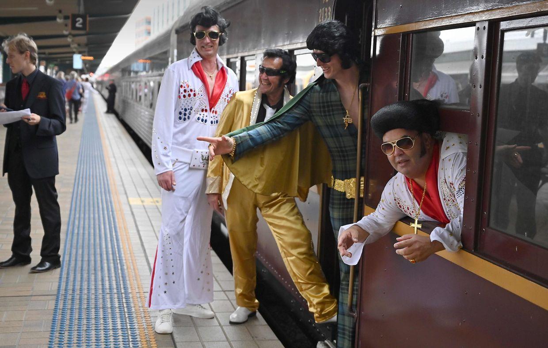 Les fans du King prennent le train pour le «Parkes Elvis Festival»