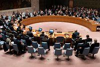 """Die britische UN-Botschafterin nannte das dreifache Scheitern einen """"traurigen Tag"""" für den UN-Sicherheitsrat."""