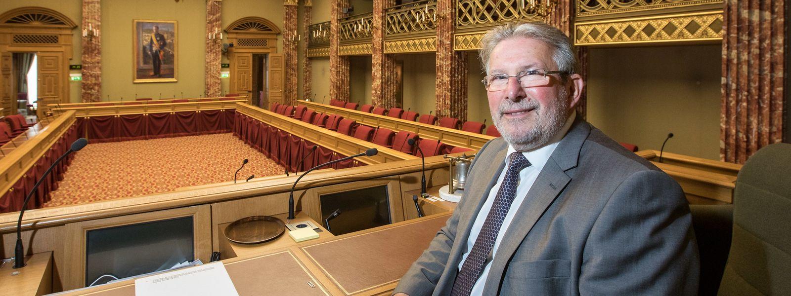 Mars Di Bartolomeo à la Chambre des députés.