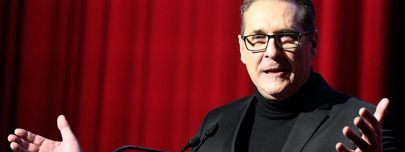 Heinz-Christian Strache, ehemaliger Vorsitzender der FPÖ in Österreich.