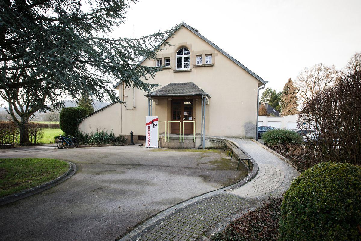 """La maison """"Le Temps des femmes"""" à Heisdorf se trouve dans un joli parc tout près de la gare."""