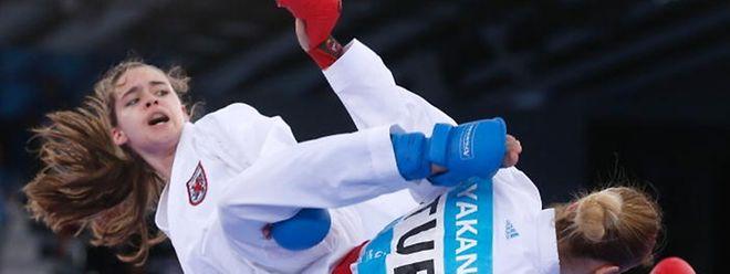 Jenny Warling, ici lors des European Games, a Baku, Azerbaidjan, pourrait être de la parti à Tokyo en 2020.