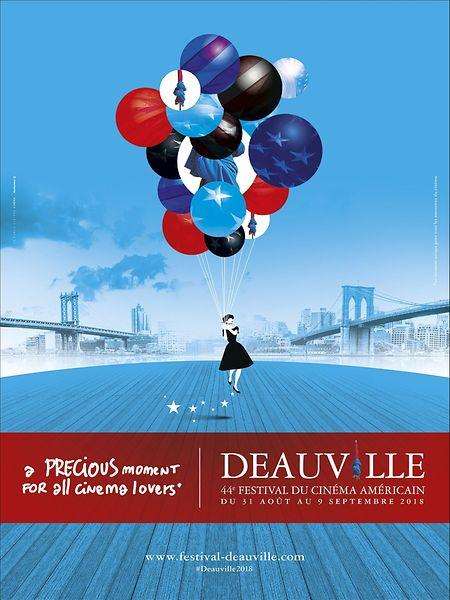 L'affiche du festival de Deauville 2018.