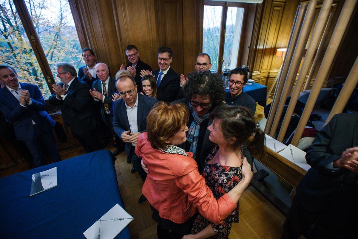 Conf. de presse Esch 2022: décision définitive - Photo : Pierre Matgé