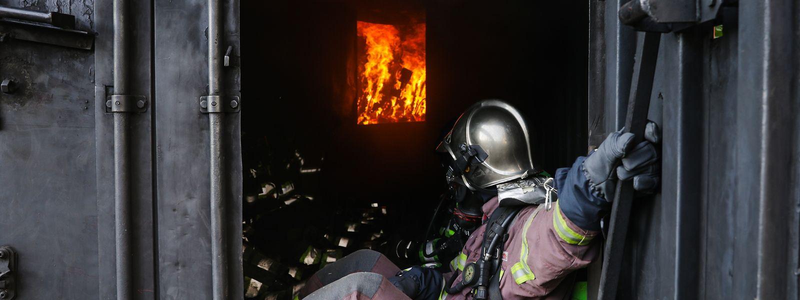 Derzeit werden 46 Feuerwehrmänner ausgebildet.
