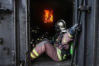 Ausbildung beim CGDIS - (Volet Incendie-Sauvetage) - Photo : Pierre Matgé