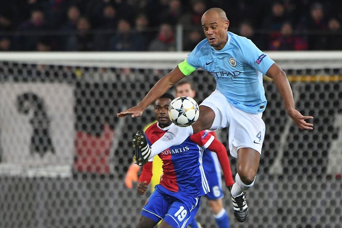 Le capitaine belge de Manchester City, Vincent Kompany dans ses oeuvres
