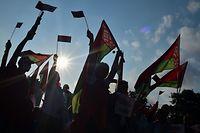 In Belarus gehen die Proteste weiter.