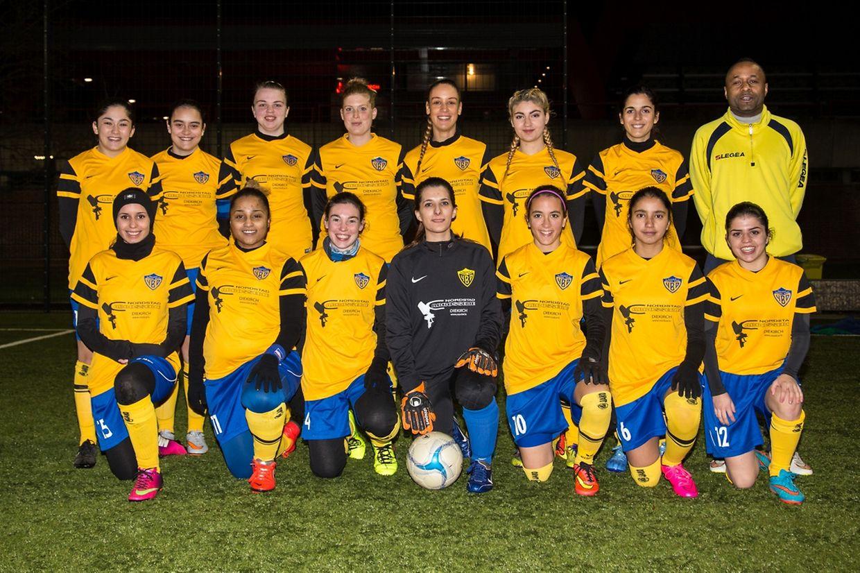 L'équipe dames des Young Boys Diekirch s'est inclinée 2-6 face à Wincrange ce samedi. Photo: Serge Daleiden